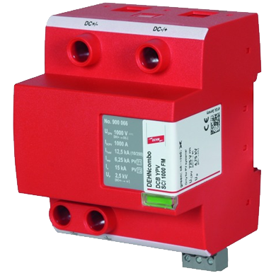 Supresor de rayo y sobretensión - DEHNcombo YPV SCI 1500 FM 900067
