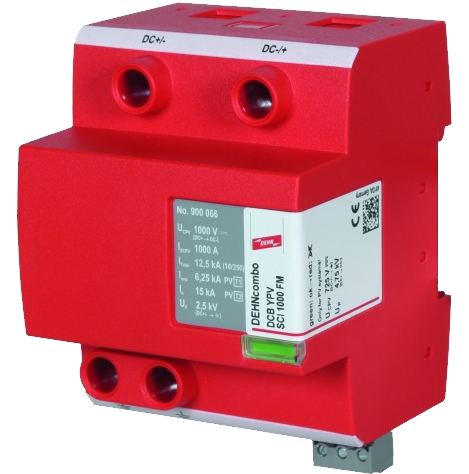 Supresor de rayo y sobretensión - DEHNcombo YPV SCI FM 1000 V 900066