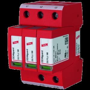 Supresor Sobretensión, DEHNguard - 3 polos 150 KA 8/20 µs - no requiere fusible previo